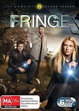 Fringe Complete Second Season Two 2 DVD NEW Region 4