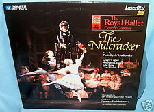LD laserdisc NUTCRACKER Royal Ballet LESLEY COLLIER