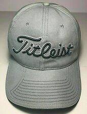 Vintage New Era Titleist Golf Cap Adjustable !00% Cotton Mint Colored EUC