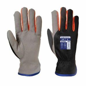PORTWEST Wintershield Glove Fleece Lined Comfort Warm Winter A280