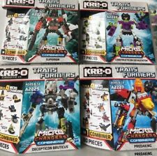Transformers Combiners Kre-O DEVASTATOR PREDAKING BRUTICUS SUPERION NEW Sealed