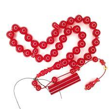 Turkish Amberoid Worry Beads SIKMA Kehribar Tesbih Prayer Tasbih Misbaha Eid 349