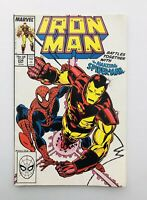 Marvel IRON MAN Comics Battles Together With Spider-Man Issue #234 Year 1988