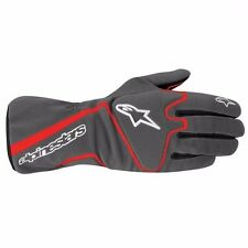 GUANTI ALPINESTARS TAG XXL MOD TECH 1-K ANTRACITE ROSSO GLOVES