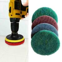 1PCS Scrub Brush Power Drill Cleaning Brush Cleaner Combo Tool Z7X2