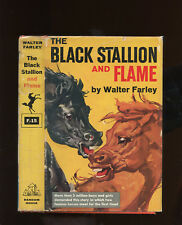 Farley, Walter: #15 - The Black Stallion and Flame HB/DJ 1st/1st