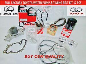 TOYOTA LEXUS ES300 ES330 CAMRY V6 FULL FACTORY OEM TIMING BELT KIT 3.0 & 3.3 LT