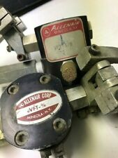 (2) Allenair Corp Vft-3/8 Cylinders With Foot/Hand Lever And Fittings