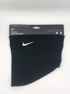 Brand New Nike Fleece Neck Warmer. Black Colorway. Unisex. One Size (OS)