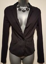Size 8 Casual Jacket MISS SELFRIDGE Charcoal Grey Fitted Great Condition Women's