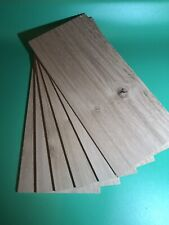 6 Off Solid Oak Wood Sheets 6mm With Knots/ Defects Bundle