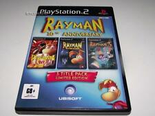 Rayman 10th Anniversary PS2 PAL Preloved *Complete* Triple Pack *Games We Played