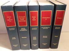 5 large hardcover Estates Trusts LAW Studies Foundation Press 40 pounds books