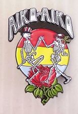 10 GRATEFUL DEAD - DEAD HEAD DANCING SKELETONS AIKO - AIKO KEY CHAINS