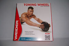 Weider Ab Toning Wheel  Home Fitness Exercise Training Workout NEW!