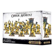 Warhammer Fantasy Age of Sigmar Ironjawz Orruk Ardboyz Ardboys NEW