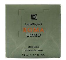 (prezzo base 199,87 €/100ml) Laura Biagiotti Roma Uomo 75ml After Shave (serie 1.)