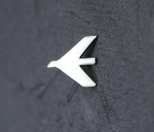 Pin EMBRAER Round Logo Pin for Pilots Crew Maintenance metal SILVER pin tie tack