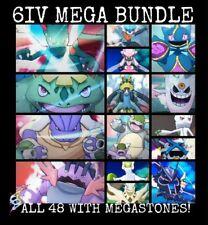 Ultra Pokemon Sun and Moon 48 Mega Evolutions 6IV-EV Trained