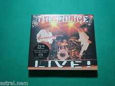 SACD THE POLICE Live! LIMITED ED STING Andy Summers Stewart Copeland HYBRID 2 CD