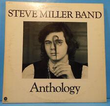STEVE MILLER BAND ANTHOLOGY 2X LP 1972 ORIGINAL BOOKLET GREAT COND! VG++/VG+!!A
