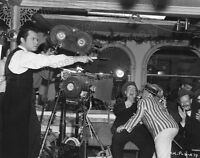 8x10 Print Director Orson Welles Citizen Kane Set Candid 1941 #OW13