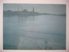 NEW&SEALED James WHISTLER Nocturn in Blue and Silver c1871/2 35.5cmx28cm Print