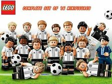 Lego 71014 DFB Mannschaft Germany Football Team Complete Set Of 16 Minifigures