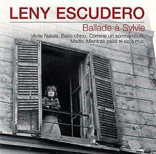LENY ESCUDERO : BALLADE A SYLVIE / CD - TOP-ZUSTAND