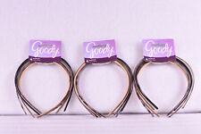 LOT OF 3 Goody Classics Skinny Plastic Headbands Color Varies 4 Count (12 TOTAL)