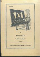 """"""" Einmal Eins """" Walzer von Hans Willer"""