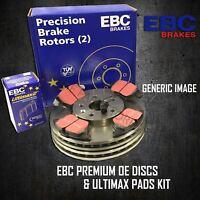 EBC 330mm FRONT BRAKE DISCS + PADS KIT SET BRAKING KIT SET OE QUALITY PDKF032