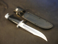 Buck 119 USA Fixed Blade Knife With Matching Leather Sheath