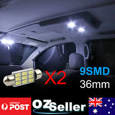 4 X 36mm Dome Roof Festoon 9 LED 5630SMD C5W SMD Interior Light Lamp Bulb OZ