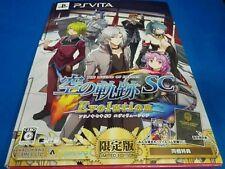 The Legend of Heroes - Sora No Kiseki SC Evolution limited ver. Japan game F/S