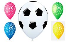 "Soccer Balls Round 12"" Latex Football Balloons Party Decoration Football Theme"