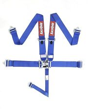 Blue Racequip 5 point Racing Harness Seat Belts 711021 CURRENT SFI DATES Razor