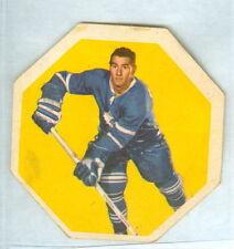 Bob Pulford 1961-62 York Peanut Butter Yellow Backs '61 Card #14 EX+ Toronto