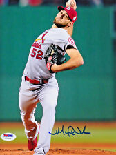 Michael Wacha Signed 8x10 St. Louis Cardinals Autographed Photo - PSA/DNA COA 2