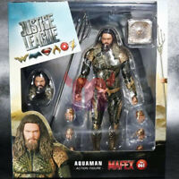 "Aquaman Amazing DC Comics Justice League 6"" Action Figure Medicom Mafex 061 New"