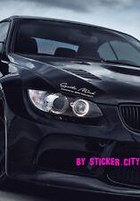 Aufkleber Sticker Sports mind BMW M3 Motorsport Logo Performance Powered Auto