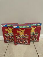 Pokemon Cereal - Exclusive Cereal - Berry Bolt - Limited Time!   Lot Of 3 Boxes