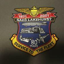 US NAVAL STATION NAES LAKEHURST PATCH