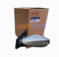 GENUINE OUTSIDE MIRROR ASSY RR VIEW,LH 876102L1209A for HYUNDAI I30/I30CW 07
