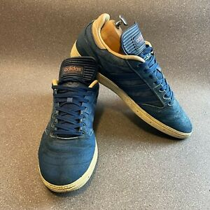 Adidas Busenitz Trainers Sneakers, Mens UK 10, Blue , BB8435, Pro Mystery Blue