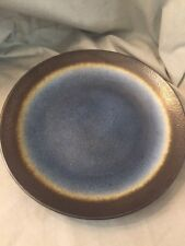 Galaxy Coupe Blue Cobalt by Baum Brothers Salad Plate Brown Border