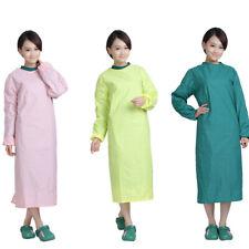 Hospital Workwear Doctor Nurse Operation Coat&Scrubs Cap Dental Lab Uniform New