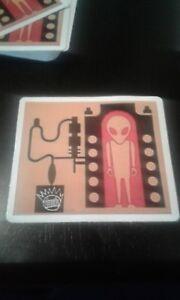Ween Sticker. Alien boognish. 1 sticker. Not poster. Not pin. Not phish.