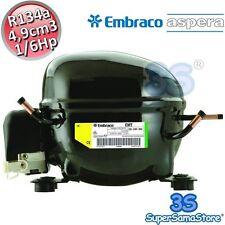 3S MOTORE Compressore FRIGOR gas R134A 1/6 Hp 4,90 cm3 Embraco Aspera EMT43HLP