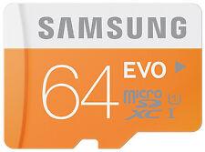 Samsung Samung - Evo 64 GB, Class 10 (50MB/s) - SDHC UHS-I Card - (MB-MP64DU2/EU)